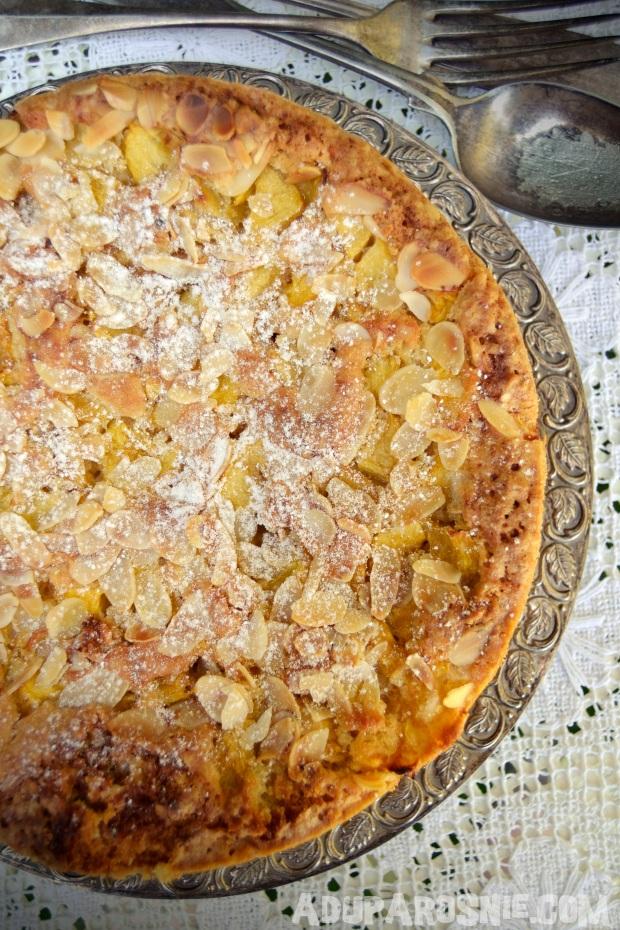 ciasto brzoskwiniowe z płatkami owsianymi (3)