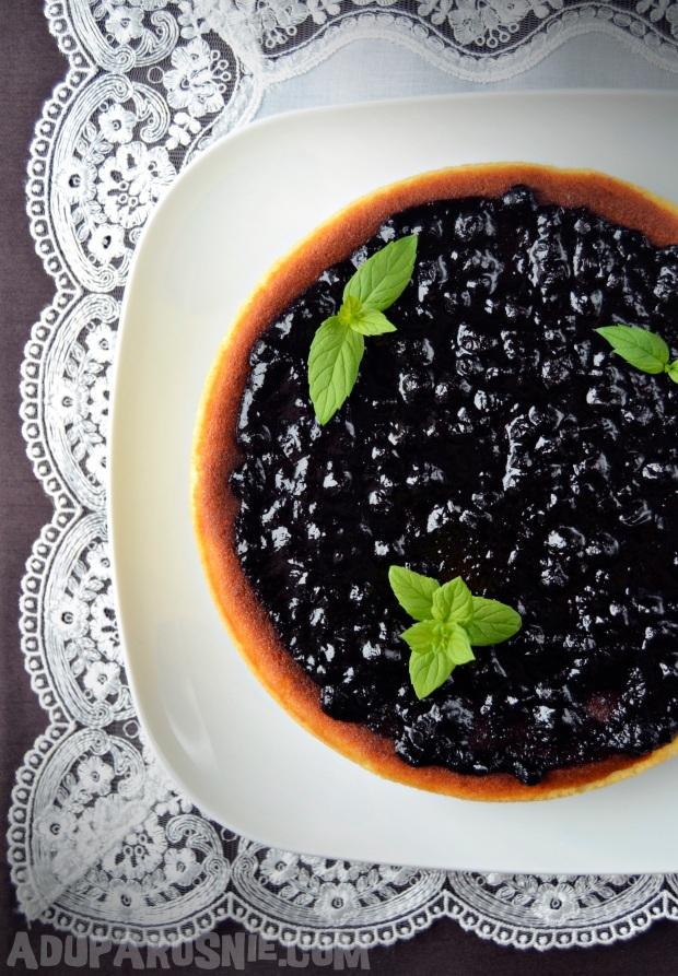 sernik z dżemem jagodowym (2)